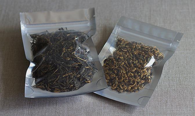 Фасовка китайского чая
