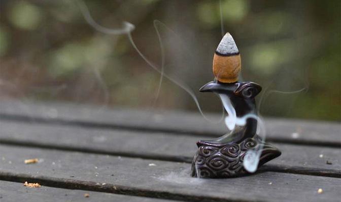 Курительница Месяц на облаке